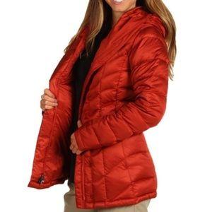 Patagonia Goosedown Downtown Rust Puffer Jacket